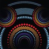 Fondo aborigen del vector del arte Fotografía de archivo