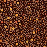 Fondo aborigeno di vettore di arte del punto illustrazione vettoriale
