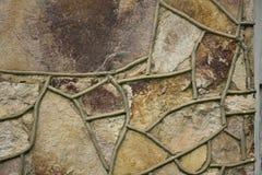 Fondo abstracto único de la roca Fotografía de archivo