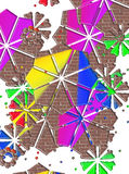 Fondo abstracto Imagen de archivo libre de regalías