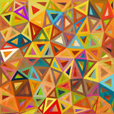 Fondo abstracto abigarrado del vector de los triángulos Imagenes de archivo