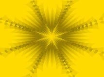 Fondo abstracto amarillo stock de ilustración