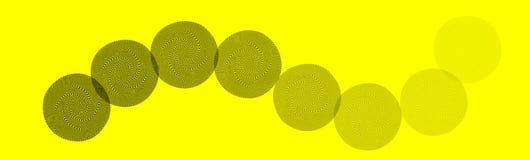Fondo abstracto amarillo Fotografía de archivo