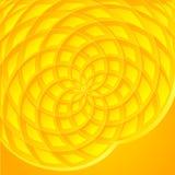 Fondo abstracto amarillo del vector del girasol ilustración del vector