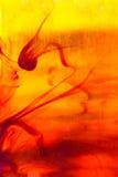 Fondo abstracto ambarino líquido Imagen de archivo libre de regalías