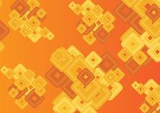 Fondo abstracto anaranjado Fotografía de archivo libre de regalías