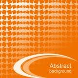 Fondo abstracto anaranjado. Fotos de archivo libres de regalías