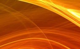 Fondo abstracto anaranjado ilustración del vector