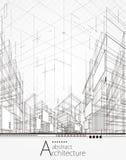 Fondo abstracto arquitectónico libre illustration