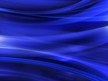 Fondo abstracto azul Fotografía de archivo