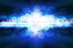 Fondo abstracto. azul Imágenes de archivo libres de regalías