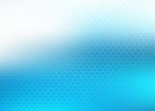 Fondo abstracto azul Stock de ilustración