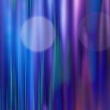 Fondo abstracto azul con las líneas ligeras Imágenes de archivo libres de regalías