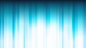 Fondo abstracto azul con las rayas brillantes verticales