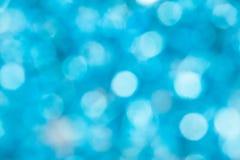 Fondo abstracto azul de Defocus Imágenes de archivo libres de regalías