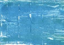 Fondo abstracto azul de la acuarela de Carolina Foto de archivo libre de regalías