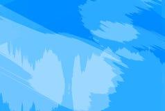 Fondo abstracto azul de la mancha blanca /negra Foto de archivo libre de regalías
