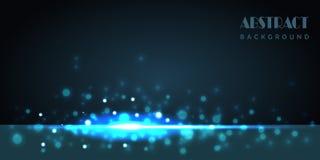 Fondo abstracto azul de la tecnolog?a digital ilustración del vector