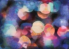 Fondo abstracto azul del Grunge stock de ilustración