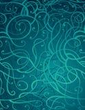 Fondo abstracto azul del ornamento de Motton stock de ilustración