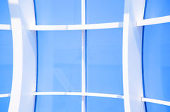 Fondo abstracto azul geométrico imagen de archivo libre de regalías