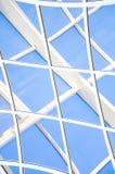 Fondo abstracto azul geométrico Imagenes de archivo
