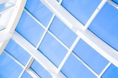 Fondo abstracto azul geométrico imagen de archivo