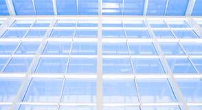 Fondo abstracto azul geométrico Foto de archivo