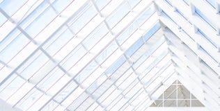 Fondo abstracto azul geométrico con los triángulos y las líneas foto de archivo