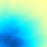Fondo abstracto azul Modelo del diseño Modelo moderno Ilustración del vector para su agua dulce de design Foto de archivo libre de regalías