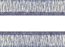 Fondo abstracto azul y blanco Foto de archivo libre de regalías
