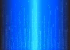 Fondo abstracto binario Imagen de archivo libre de regalías