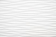 Fondo abstracto blanco de la onda Foto de archivo