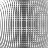 Fondo abstracto blanco del modelo de la raya de la arquitectura Fotografía de archivo libre de regalías