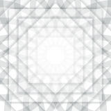 Fondo abstracto blanco y gris de la perspectiva ilustración del vector