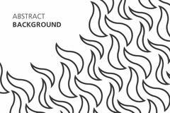 Fondo abstracto blanco y negro Foto de archivo libre de regalías