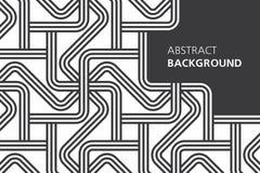 Fondo abstracto blanco y negro Imágenes de archivo libres de regalías