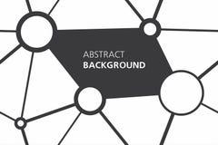 Fondo abstracto blanco y negro Fotografía de archivo