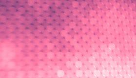 Fondo abstracto, bokeh rosado Luces rosadas brillantes fotos de archivo