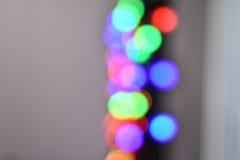 Fondo abstracto borroso bokeh colorido de la estrella Concepto del partido de la Navidad y del Año Nuevo Fotografía de archivo libre de regalías