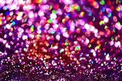 Fondo abstracto borroso Colorfull de oro de la textura del brillo Imágenes de archivo libres de regalías
