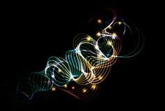 Fondo abstracto borroso del efecto luminoso del grunge libre illustration