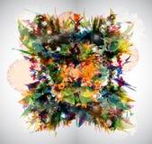 Fondo abstracto brillante Ilustración del Vector
