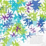 Fondo abstracto brillante Imagen de archivo libre de regalías