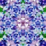 Fondo abstracto brillante azul del modelo de los triángulos Fotografía de archivo