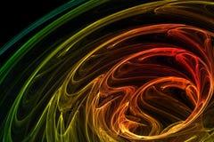 Fondo abstracto brillantemente coloreado stock de ilustración