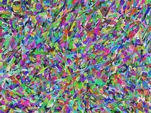 Fondo abstracto caótico coloreado multi fotografía de archivo