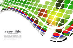 Fondo abstracto coloreado Fotos de archivo