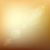 Fondo abstracto coloreado suavidad anaranjada con la lente libre illustration