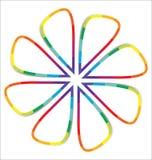 Fondo abstracto colorido con el espacio para el texto. Imagenes de archivo